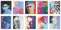 Ten Portraits of Jews of the Twentieth Century (FS II.226-235)