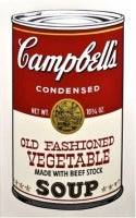 Campbell's Soup II: Old Fashioned Vegetable (FS II.54)