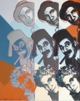 Marx Brothers 232 by Andy Warhol