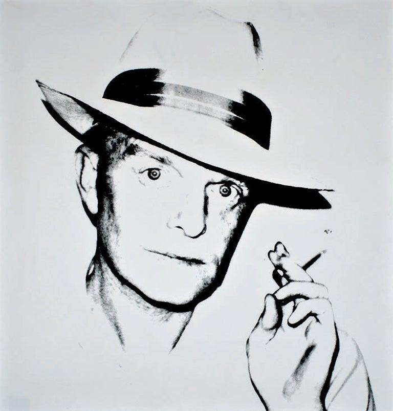 Andy Warhol Portrait Print - Truman Capote (FS II.46)