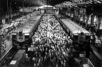 Churchgate Station, Bombay, India