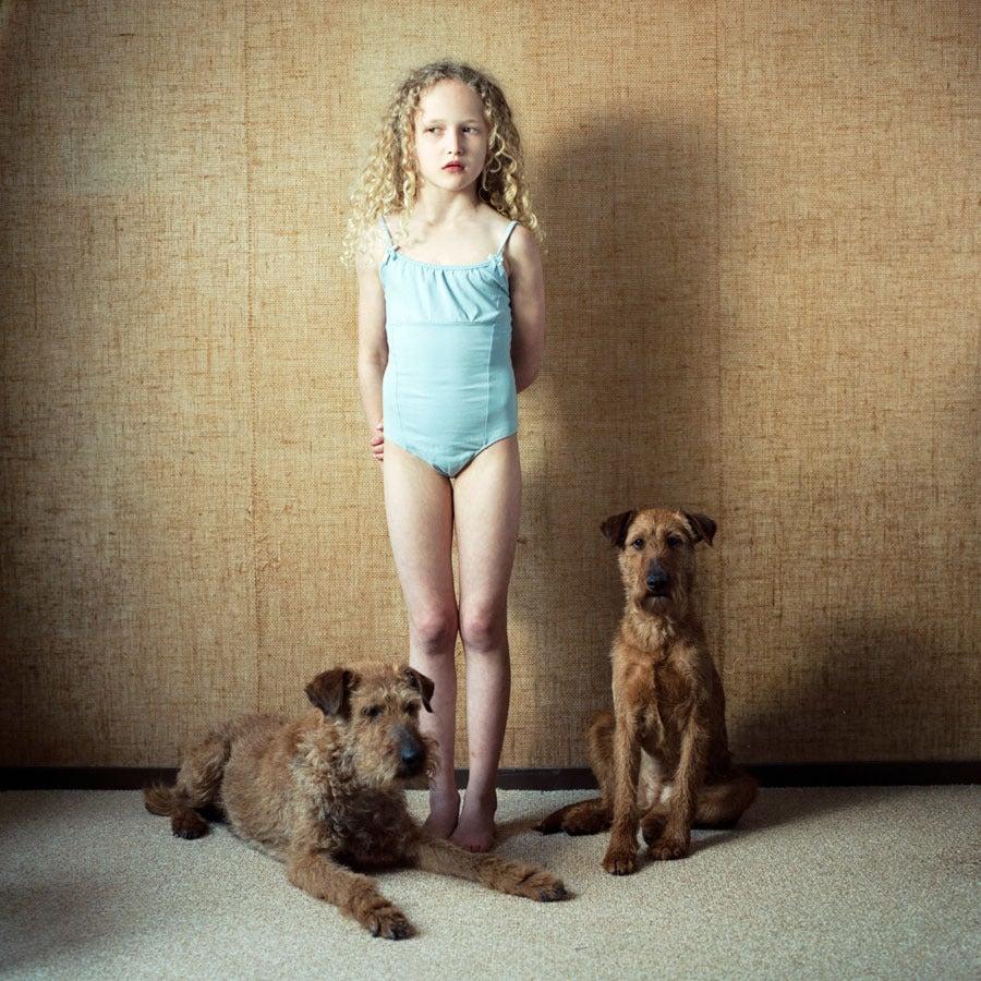 Untitled #393 - Photograph by Hellen van Meene