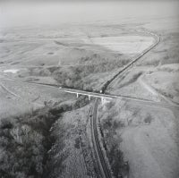 Train and Bridge, February 13, 1993