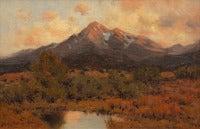 Mt. Princeton at Sunset from Buena Vista, Colorado