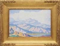 Sven Birger Sandzen - Untitled (Colorado Mountains)