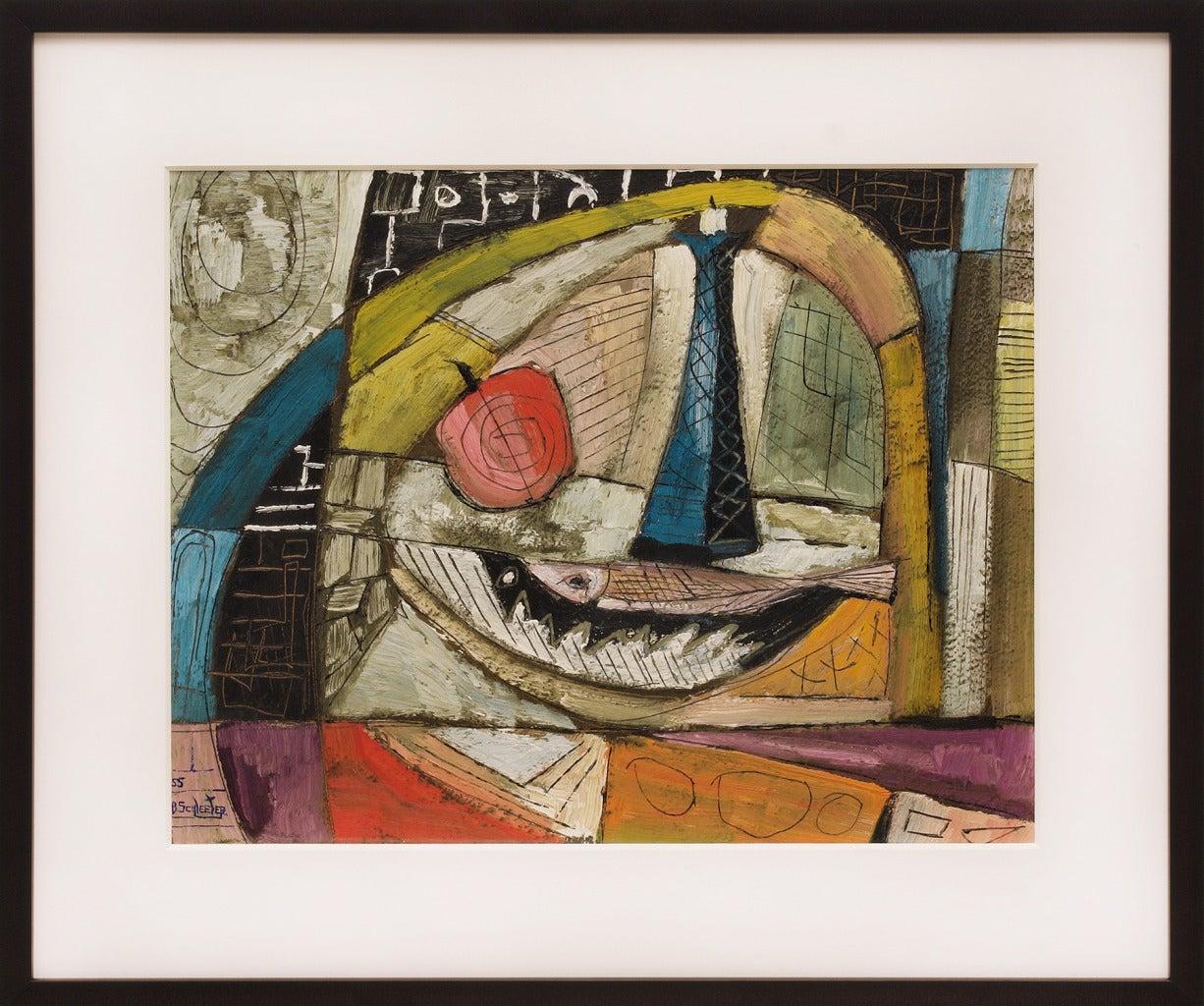 Howard Schleeter Still-Life Painting - Still Life, #10