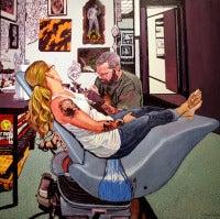 Todd, Tattoo Parlor, Plattsburg