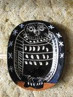 Picasso Mat Owl Ceramic Madoura