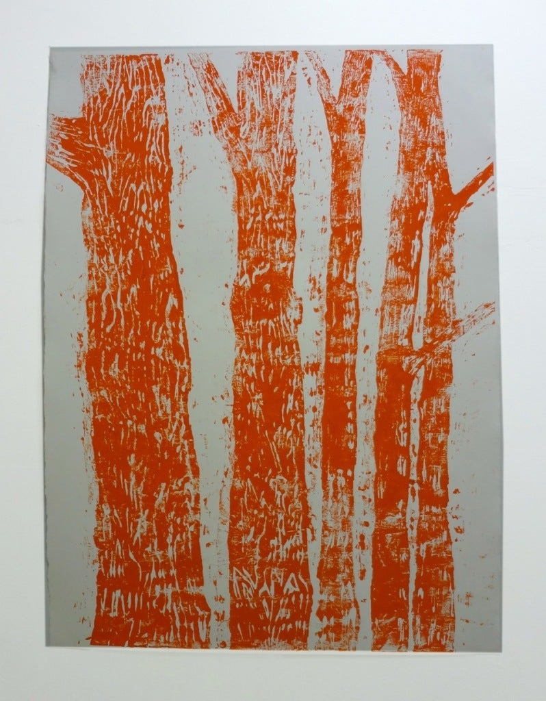 Woodblock no. 2 (Orange)