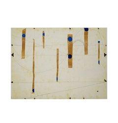 Three String Etching, Blue Point