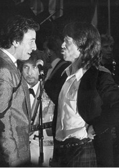 Bruce Springsteen, Mick Jagger, and Bob Dylan
