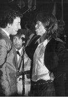 Bruce Springsteen, Mick Jagger, and Bob Dylan