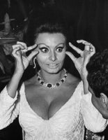 Sophia Loren at the premiere of Dr. Zhivago, New York, 1965