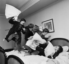The Beatles Pillow Fight, Paris