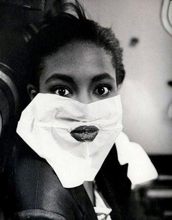 Naomi Campbell in Paris