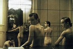 Five Girls in a Room in Pigalle, Paris, VOGUE Italia, 1982