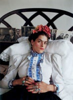Tracy as Frida,