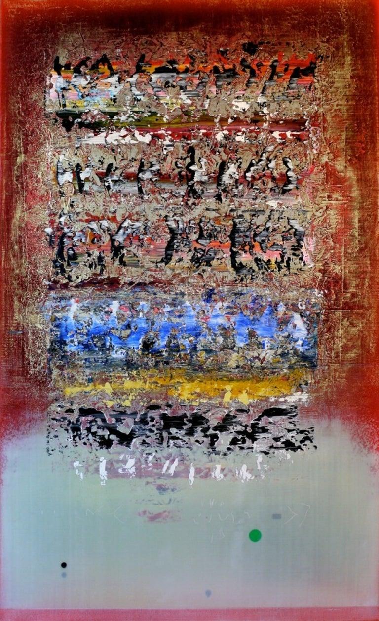 Alice Teichert Abstract Painting - Lumiere