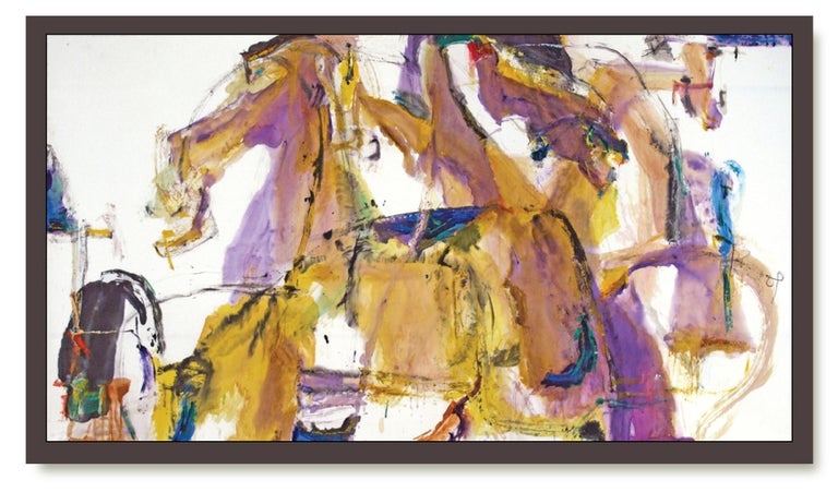 Andrew Lui Abstract Painting - Duology