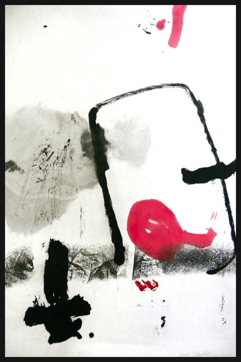 Zhu Lan Abstract Painting - ZL Untitled 8