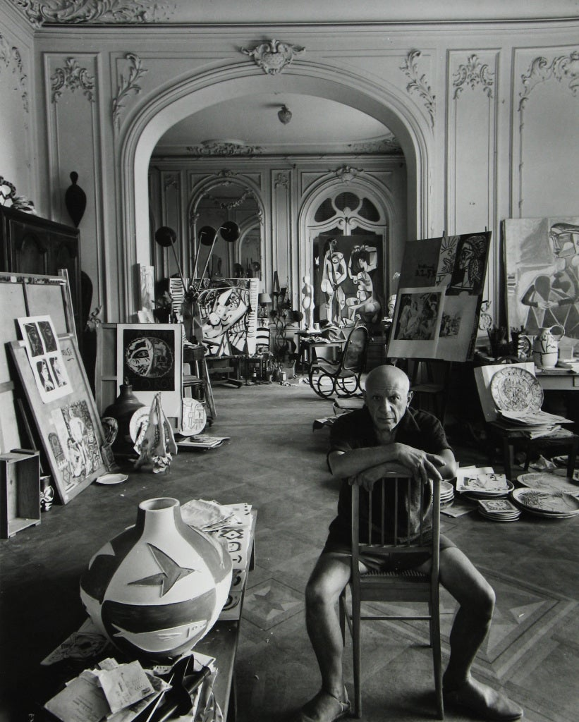 Arnold Newman Pablo Picasso Cannes France At 1stdibs