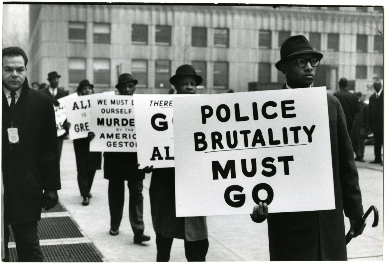 Gordon Parks - <b>Black</b> Muslim <b>Protest</b> | African <b>Americans</b> - The journ…
