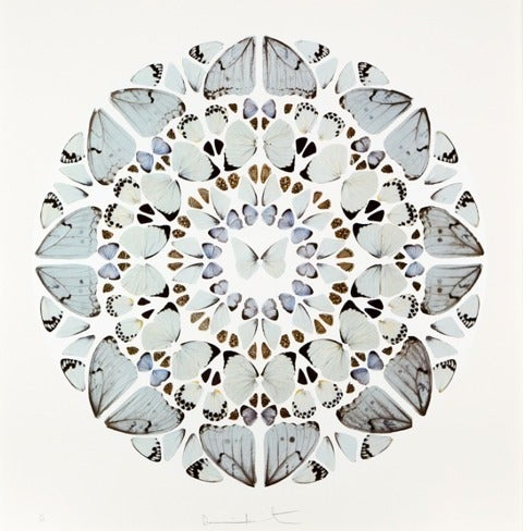 Damien Hirst Abstract Print - Psalm Print: Domine, Dominus noster