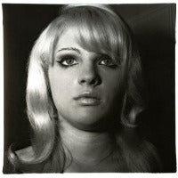 Diane Arbus - Blond Girl with Shiney Lipstick