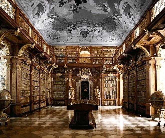 Biblioteca dell'Abbazia, Melk