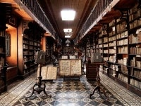 Biblioteca S. Francisco, Lima