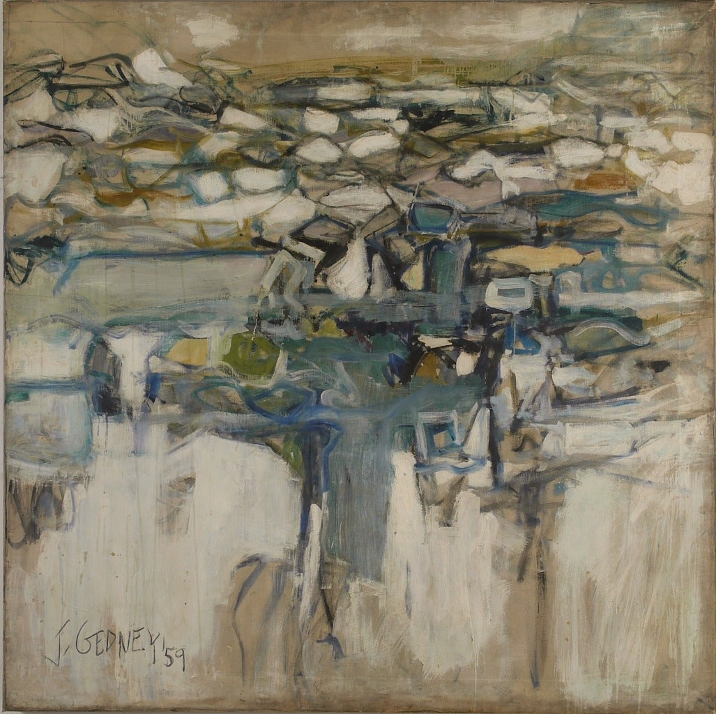 Joann Gedney Landscape Ii Painting At 1stdibs