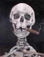 The Aristocrat (Smoking Skelton)