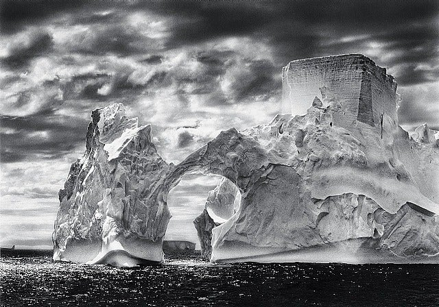 "Antarctica, Iceberg, ""The Castle"""