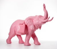 Cloned pink Father Elephant