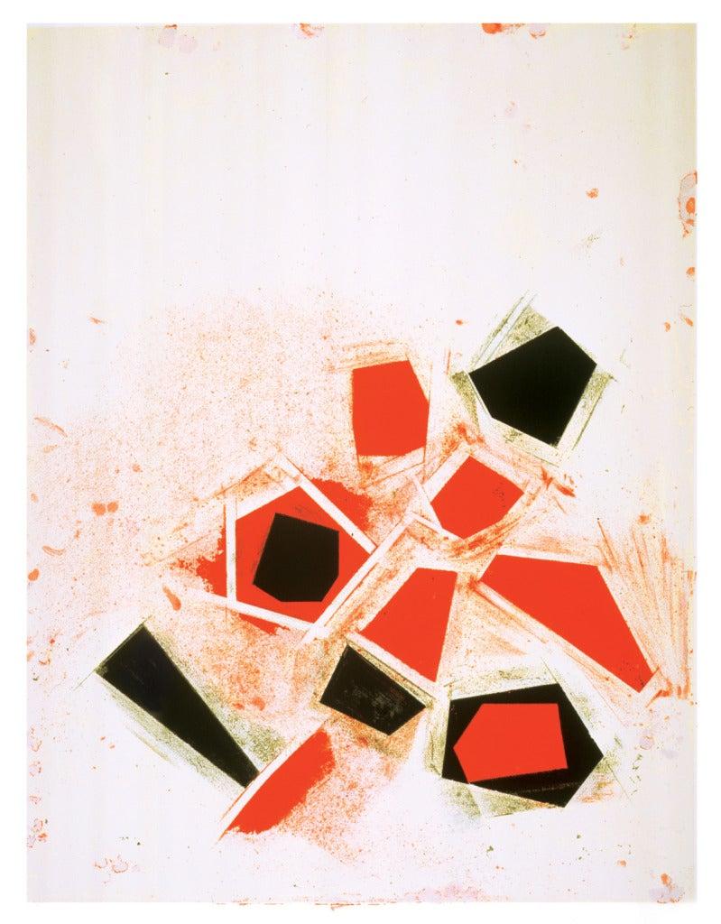 UNTITLED, Joel Shapiro, 2006, screen print - Print by Joel Shapiro