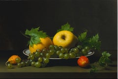 Early American, Still Life with Balsam Apples