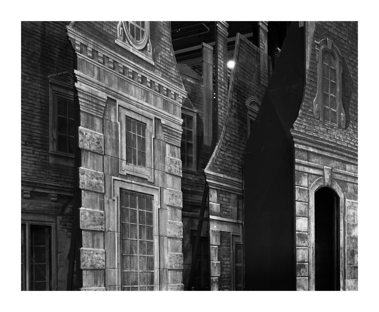 MANON BUILDING FACADE, photograph, signed and numbered, Ed. of 54