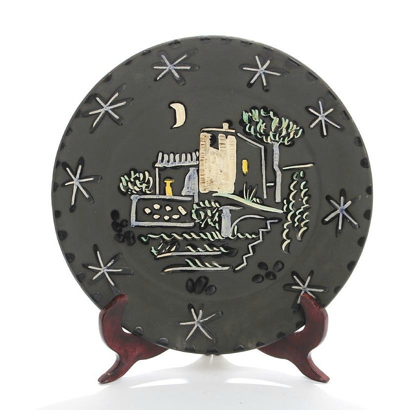 Pablo Picasso Paysage Ceramic Plate At 1stdibs