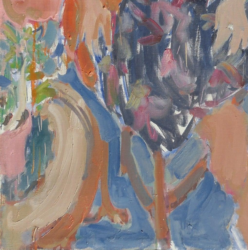 'Seated Woman', Louvre, LACMA, Académie Chaumière, California Post-Impressionist For Sale 1