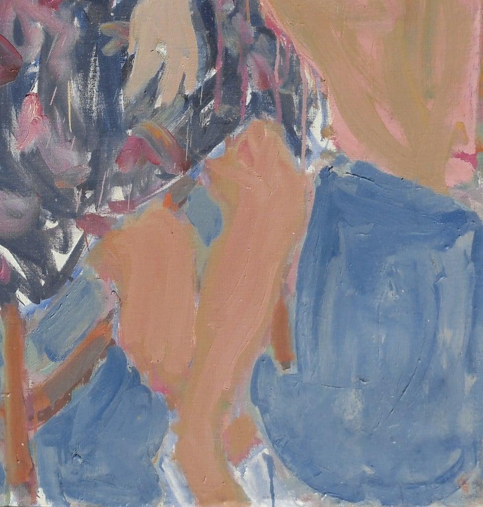 'Seated Woman', Louvre, LACMA, Académie Chaumière, California Post-Impressionist For Sale 2