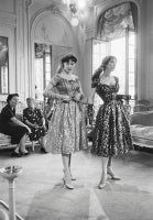 Dior, Two Metallic Dresses, Buyers, 1953