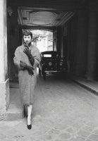 Dior Model Renee Wears the Ramses Coat