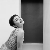 Audrey Hepburn Wearing Claire McCardell for Mademoiselle Magazine
