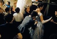 Backstage Balmain Blue Bejeweled