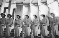 Coco Chanel's Mirrored Staircase