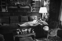 Coco Chanel In Her Apartment On The Rue Cambon