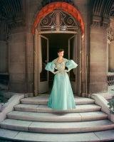 Courtyard Fath Blue Ball Gown