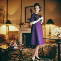 Christa Vogel Wearing Dior in the Francine Weisweiller Fumoir
