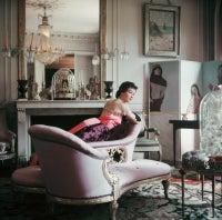 Ghislaine Lounges in Elsa Schiaparelli's Home