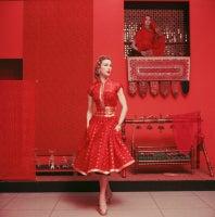 Indian Inspired Fashion at MOMA, 1955